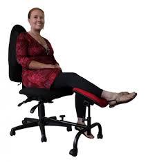 foot elevation under desk ergoup curve leg rest