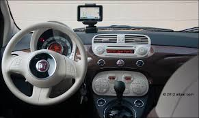 Fiat 500 Interior 2012 Fiat 500 Lounge Automatic Car Review