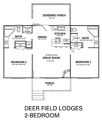 two bedroom cabin floor plans branson cabin condo 4 bedroom floor plan