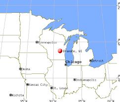 wisconsin map usa brandon wisconsin wi 53919 profile population maps