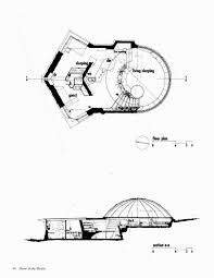 dome house floor plans gallery of the dome in the desert by wendell burnette 2