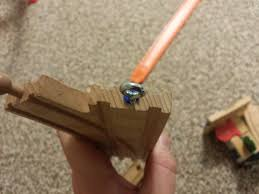 Making Wooden Toy Train Tracks by Fixing Thomas The Tank Wooden Train Tracks Or Brio Magicalyak