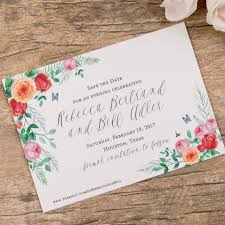 Wedding Invitations Houston Vintage Floral Inspired Wedding Invitations A U0026p Designs
