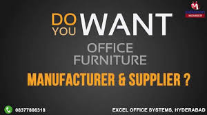 Office Furniture Suppliers In Bangalore Office Furniture By Excel Office Systems Hyderabad Youtube