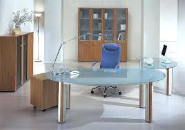 Glass Desk Office Executive Glass Desk Contemporary Executive Desks Office Modern