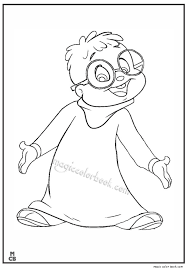 alvin chipmunks coloring pages 33