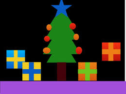 Animated Christmas Decorations Gif by Parkfield Primary Year 5 Computing Animated Christmas Trees