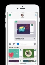 app gift cards starbucks imessage app launch promo lets you gift 5 and get 5 back
