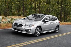 custom subaru hatchback 2017 subaru impreza 7 reasons to get the hatch and skip the sport