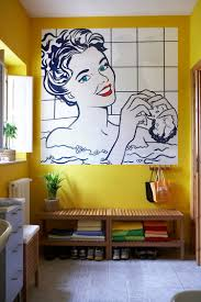 pop art wall murals home design