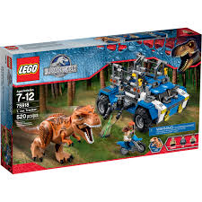 jurassic park car trex lego jurassic world t rex tracker 75918