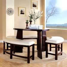 furniture captivating triangular dining table set ashley