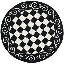 Checkered Area Rug Black And White Checkerboard Rug Rugs Ideas Throughout Black And