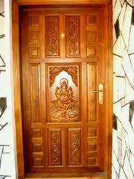 Single Front Door Designs In Kerala