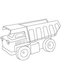dump truck coloring pages download free dump truck coloring