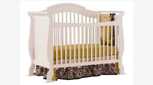 Stork Craft Tuscany 4 In 1 Convertible Crib by Stork Craft Valentia Fixed Side Convertible Crib Youtube