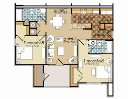 home plans with rv garage two bedroom house plans with attached garage awesome garage floor