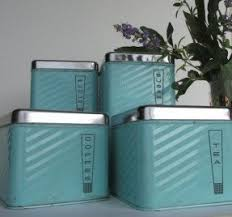 blue kitchen canister set teal kitchen canisters foter