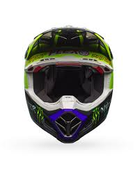 motocross helmet goggles bell hi viz monster energy 2017 moto 9 flex pro circuit replica mx
