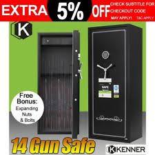 14 gun steel security cabinet gun cabinet ebay