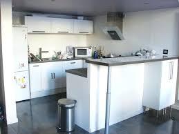 cuisine avec bar comptoir cuisine ouverte avec comptoir bar argileo