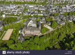 Bad Berleburg Aerial View Chateau Wittgenstein Bad Berleburg Aerial View Of