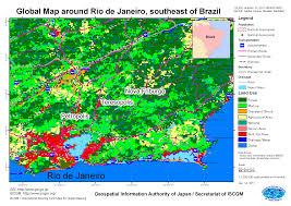 Map Of Rio De Janeiro Torrential Rain In Brazil January 2011 Gsi Home Page