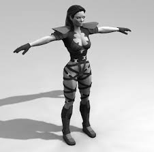 Female Body Reference For 3d Modelling Ut99 Necris Female Commando Model Redesign Unreal Tournament Forums