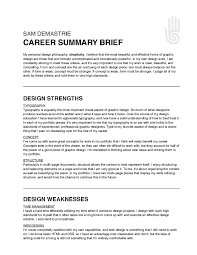 Resume Synopsis Sample by Professional Summary Resume Examples
