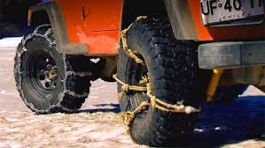 Off Road Tire Chains Snow Chain Alternative Snow A Cheap And Effective