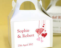 wedding baskets u0026 boxes etsy uk