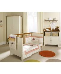 Davenport Nursery Furniture by Stratford 4 Piece Nursery Furniture Set Vanilla U0026 Pine Nursery