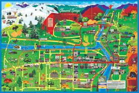 Colorado Brewery Map by Paradise Publishing Glenwood Springs Colorado Cartoon Map