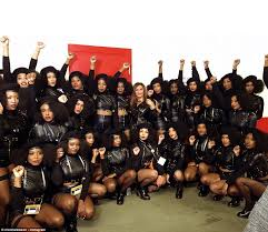 beyonce gets political at super bowl 50 with black lives matter