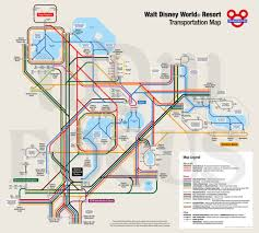 Map Of Orlando Theme Parks by Walt Disney World Transportation Map Maplets