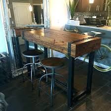 bar height table industrial industrial pub table farmhouse pub table industrial style bar height