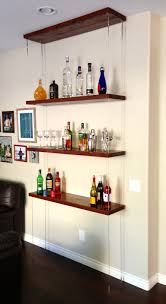 Wall Shelves Design by Diy Able Suspended Shelving Diy Design Shelving And Ceiling
