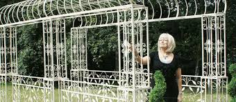 Metal Garden Trellis Uk Rose Arches Pergolas U0026 Arbours Black Country Metal Works
