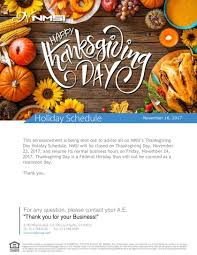 Friday After Thanksgiving Federal Nmsi Inc On All Of Us Here At Nmsi Inc Would Like To