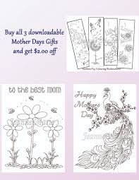mothers day colouring printable download of both colouring cards
