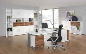 Modern Wood Office Desk Office Workspace Creative L Shape White Home Office Decoration