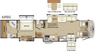 Front Living Room 5th Wheel Floor Plans 2018 Aspire Luxury Class A Mortorhome Entegra Coach