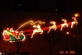 santa lights on the fort wayne national bank building mapio net