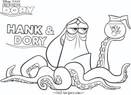 finding nemo coloring pages finding nemo marlin dory and nemo