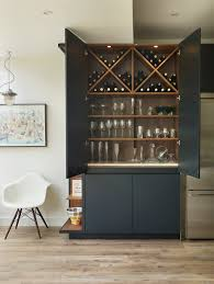 roundhouse urbo matt lacquer bespoke drinks cabinet bar
