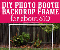 diy photo booth frame photo booth pictures photos images and pics for