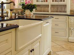 kitchen faucets and sinks decorating white apron sink on white kitchen cabinet with black