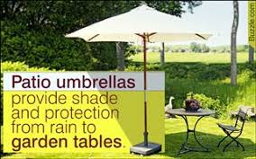 How To Make A Patio Garden How To Buy A Patio Umbrella That U0027ll Bedeck Your Garden Perfectly