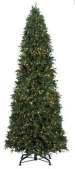 noma pre lit self shaping pine tree 12 ft canadian