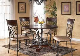 table round dining room sets for 8 stunning round kitchen table